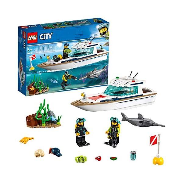 LEGO City - Yacht per immersioni, 60221 2 spesavip