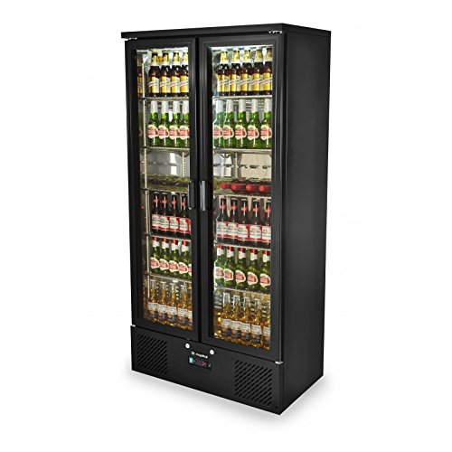 Capital Products Capital Primo 500 Double Door Upright Bar Chiller - Black