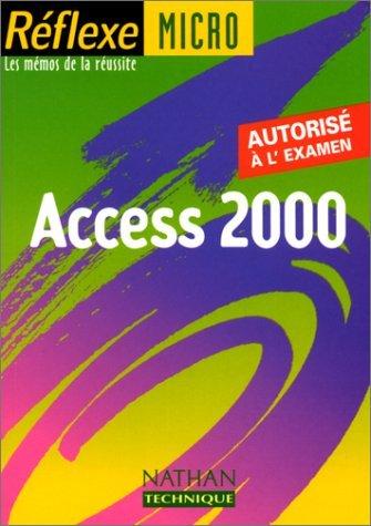 Access 2000, mémo numéro 60 by Monique Langlet (2001-03-13)