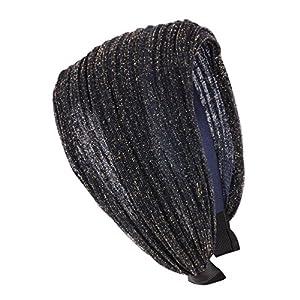 axy HR30A Haarreif Serie 30A Hair Band mit Glitzerfäden