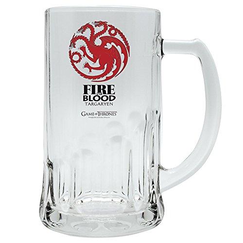 """ABYstyle ABYVER021 bicchiere da birra Game of Thrones """"Targaryen"""""""