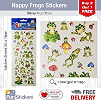 Fun Stickers Happy Frogs 509