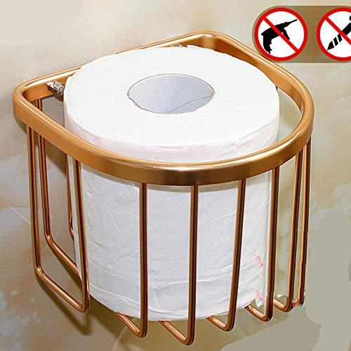 TISESIT INDOOR Moderne Wand Messing Toilettenpapierrollenhalter Bad Tissue Rack Edelstahl Toilettenpapier Handtuch Holde Für Badezimmer,A - Messing Becher Und Racks