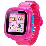 Juego Niños Smart Watch para Niños Chicas Chico con Cámara 1.5 '' Touch 10 Juegos Pedómetro Timer Despertador Toy Smartwatch Reloj de Salud Monitor de Salud (Rosa)
