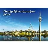 Germania magia · DIN A4Calendario 2019· Germania Città · · · vedere wuerdigkeiten · Set Regalo con 1biglietto d' auguri e 1scheda · Edition Anima magia di Natale