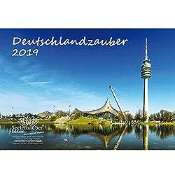 Deutschlandzauber · DIN A4 · Premium Kalender 2019 · Deutschland · Stadt · Sehenswürdigkeiten · Edition Seelenzauber