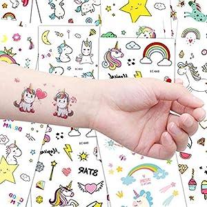 Lomire Tatuajes Temporales para Niños