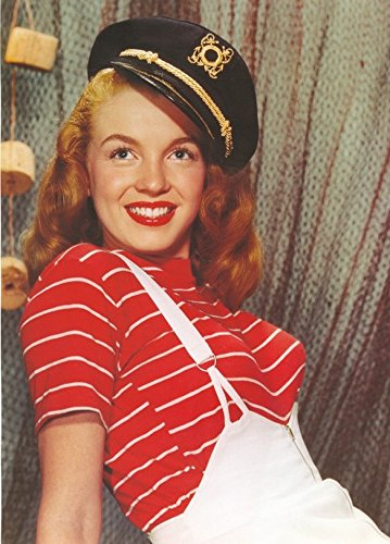 Outfit Marilyn Monroe (MARILYN MONROE IN Matrosenanzug Outfit–gerahmtes Bild–11x)