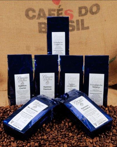 Classic Caffee - Probierset 4 - Espresso - Ganze Bohne