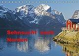 Sehnsucht nach Norden (Tischkalender 2019 DIN A5 quer): Norwegens und Islands faszinierende Sehnsuchtlandschaften werden im Wandel der Jahreszeiten ... (Monatskalender, 14 Seiten ) (CALVENDO Natur) - Reinhard Pantke