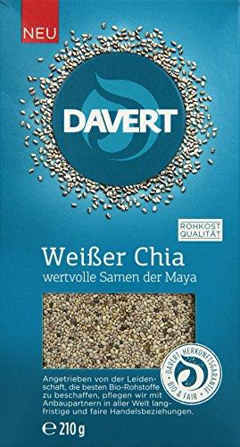 Davert Weißer Chia, 2er Pack (2 x 210 g)
