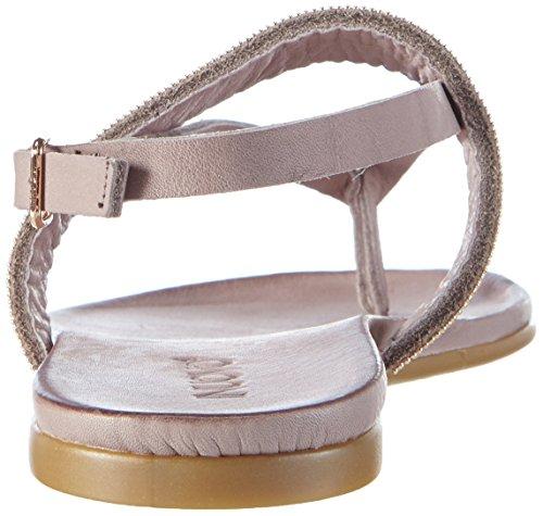 Inuovo - 6048, Scarpe col tacco con cinturino a T Donna Grigio (Grigio (grigio))