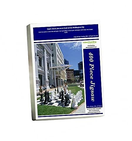 Photo Jigsaw Puzzle of Giant chess pieces in front of