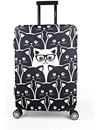 Luggage Protective Covers with Cartoon Beatles Washable Travel Luggage Cover 18-32 Inch
