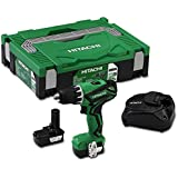 Hitachi 93104326 - Taladro atornillador de batería