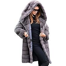 0801e6ae4ecf Aofur Frauen Damen Luxus Winter Warm Parka Faux Pelz Mäntel Outwear Jacke  Overcoat Overcoat Top Kleidung