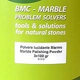 Marmor Polierpulver M1 300g um das Polieren von Marmor und