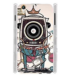 King Camera TV Movie Soft Silicon Rubberized Back Case Cover for Xolo A1010