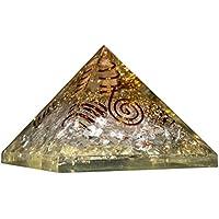 Crocon Bergkristall klar Edelstein Energetische Pyramide mit Kristall Point Energie Generator für Reiki Healing... preisvergleich bei billige-tabletten.eu