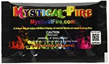 Mystical Fire Campfire Fireplace Colorant Packets (10 Pack) by Mystical