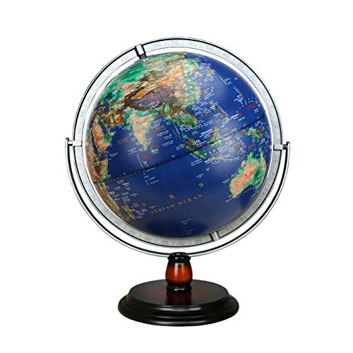 ZQYR Gift# Globus Beleuchtet Globen WeltKugel für Kinder Halloween, Business & Geburtstag Geschenke, Wohnkultur Büro Dekoration 12 Zoll - Model:JSL072