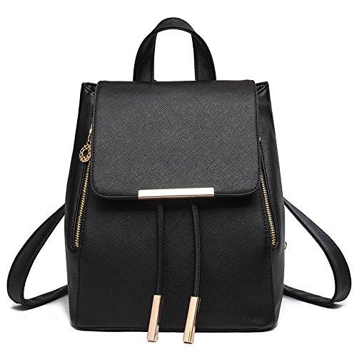 Mefly Casual Borsa A Tracolla Alla Moda Claret Tempo Libero black