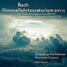 Bach: Ascension Oratorio [Gutenberg-Kammerchor; Neumeyer Consort; Felix Koch] [Rondeau Production: ROP6154]