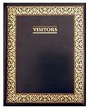 Letts - Libro de visitas, color negro