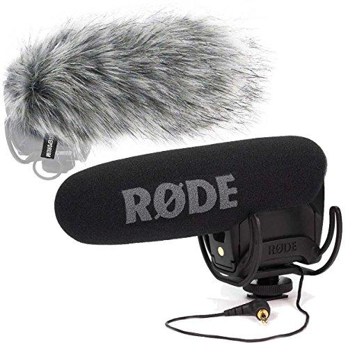 Rode Videomic Pro Rycote Kamera Mikrofon + keepdrum WS03 Windschutz