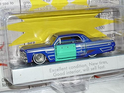 Chevrolet Chevy impala 1964 Coupe Blau For Sale Scheunenfund Edition Oldtimer 1/60 1/64 Jada Modellauto Modell - Chevy Impala Modell Auto