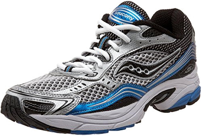 Saucony Men's Grid Fusion 3 Running Shoe  Silver/Royal/Black  46 D(M) EU/10.5 D(M) UK