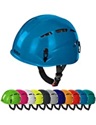 Casque d'escalade et d'alpinisme universel ARGALI via ferrata en beaucoup couleurs modernes de Alpidex