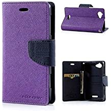 Xiaomi Mi 4i Purple Flip Cover
