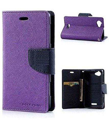 Amazon Prime Flip Cover For Lenovo K4 Note - Purple