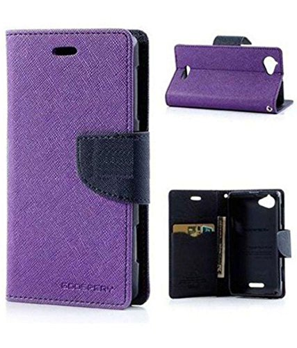 Motorola Moto X Play Purple Flip Cover