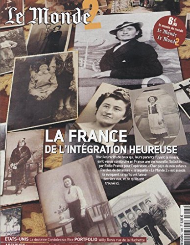 le-monde-2-n87-15-octobre-2005-integration-condoleezza-rice-willy-ronis-separation-de-leglise-et-de-