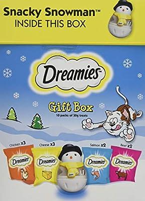 Dreamies Gift Box Cat Treats 300g (Pack of 3)