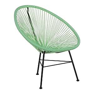Sklum sedia new acapulco verde menta scegli un colore for Sedia acapulco