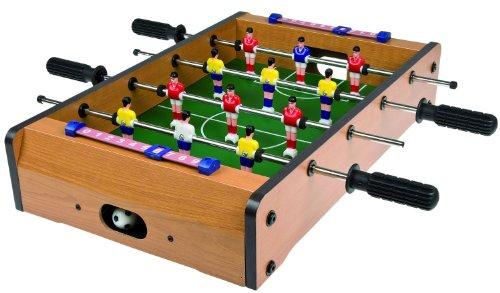 Idena 6171229 - Tischfußballset, Spielfeldgröße 51 x 31 cm (Fußball Kicker)