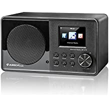 Albrecht DR 470 Internet Digital Negro - Radio (Internet, Digital, FM, 802.11b, 802.11g, 802.11n, Audio (3.5mm))