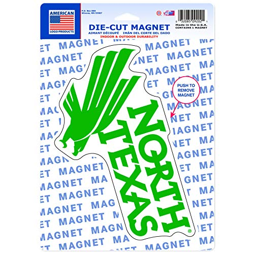 Kühlschrank Vinyl Cover (Wincraft American Logo Produkte North Texas Mean Green Logo Magnet)