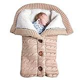 Unisex Baby Schlafsack, Bag Schlafsack Winter-Abnehmbare Ärmel Baby Kids...