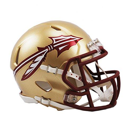 Gold Football Helm Kostüm - NCAA Speed Mini-Helm, Jungen Kinder Damen