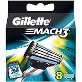 Gillette Mach 3cuchillas, 1er Pack (1x 8unidades)