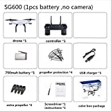 WSWRJY Drones,Drone Camera,With Camera Sg600 Wifi Fpv Rc Drone With Camera Altitude Holdrc Helicopter Vs Xs809Hw Yh-19Hw X5Sw E58