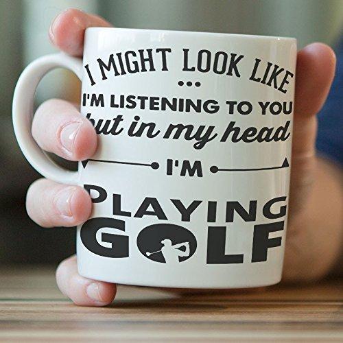 Funny golfeur Tasse...