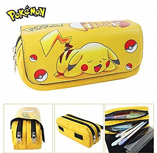 Kids Craze UK Trousse à deux compartiments Motif Pikachu Pokémon