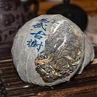 Yunnan Pu'er thé cru puer thé 100g (0.22LB) puerh tuo cha puh vieux thé de puerh thé vert thé chinois thé cru sheng cha thé Puerh nourriture saine thé Pu-erh nourriture verte vieux arbres thé Pu erh