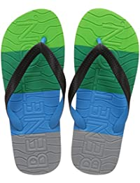 United Colors Of Benetton Men's Multicolor Flip-Flops And House Slippers - 10 UK/India (44.5 EU)
