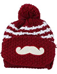 niceEshop(TM) Women Warm Winter Knitted Crochet Hats Ski Cap with Mouth Mask